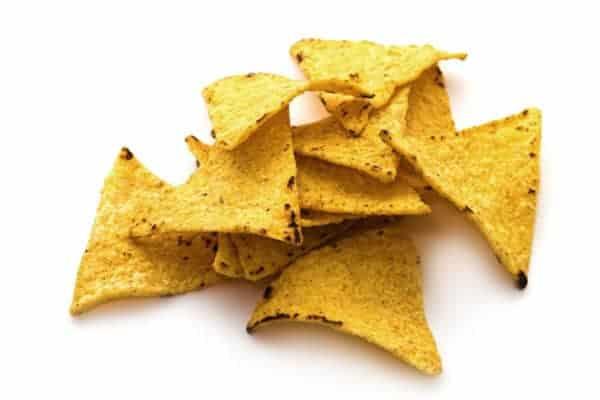 stack of nachos