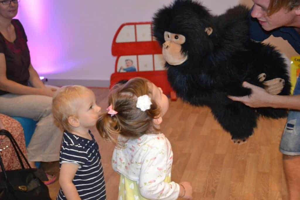 Toddler group George the monkey