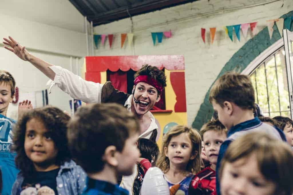 Pirate party childrens entertainer