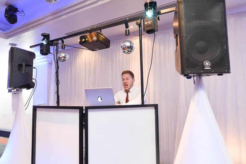 Ricky Funny Pic DJing