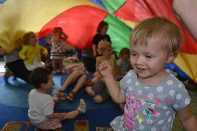How does singing and sensory play benefit your toddler?