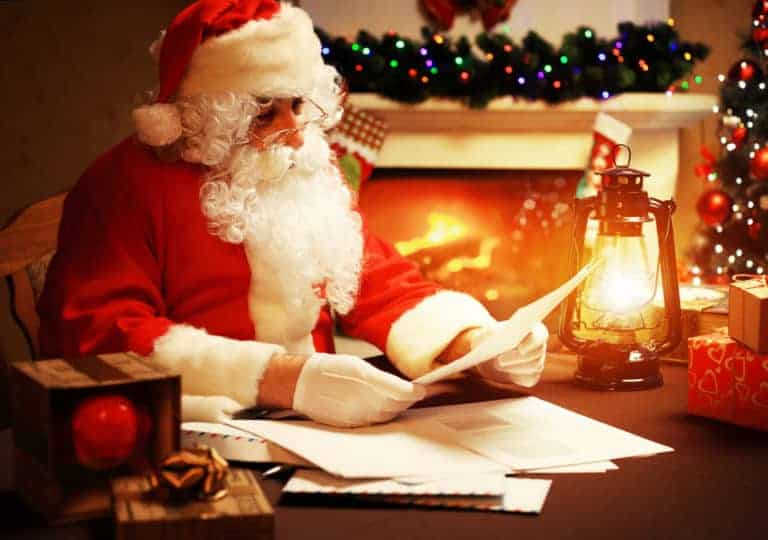 Day 4 Write a Letter to Santa
