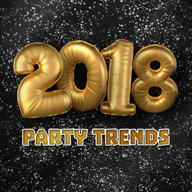 Children's party trends for 2018