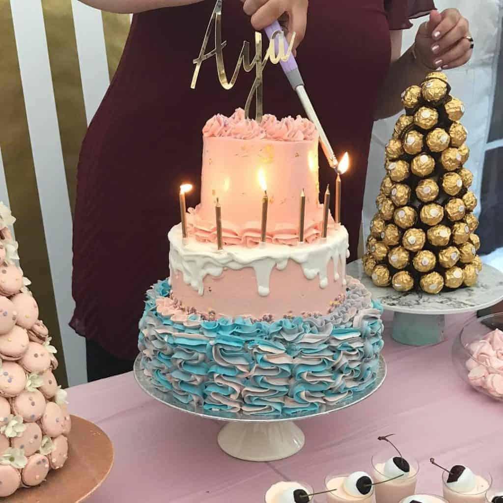 3 tier celebration cake