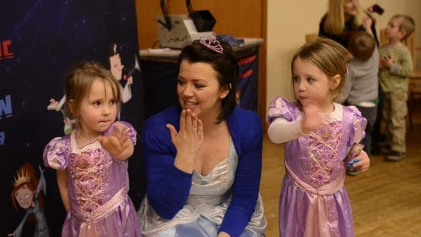 princess birthday party in london