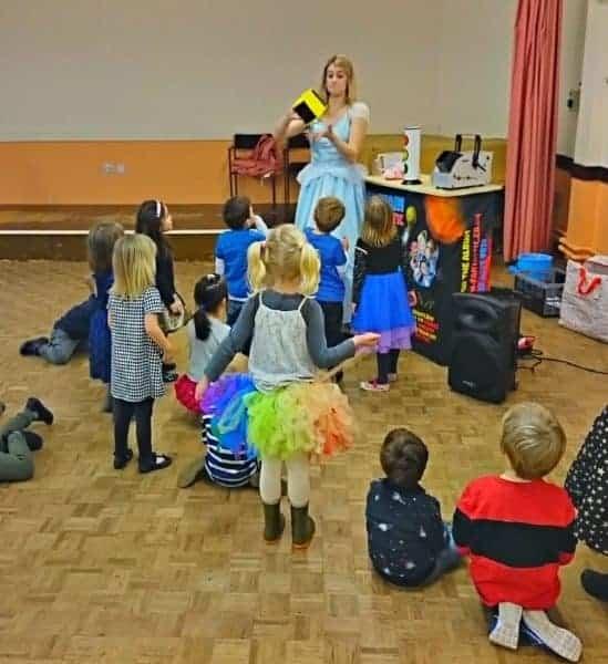 Children enjoying a children