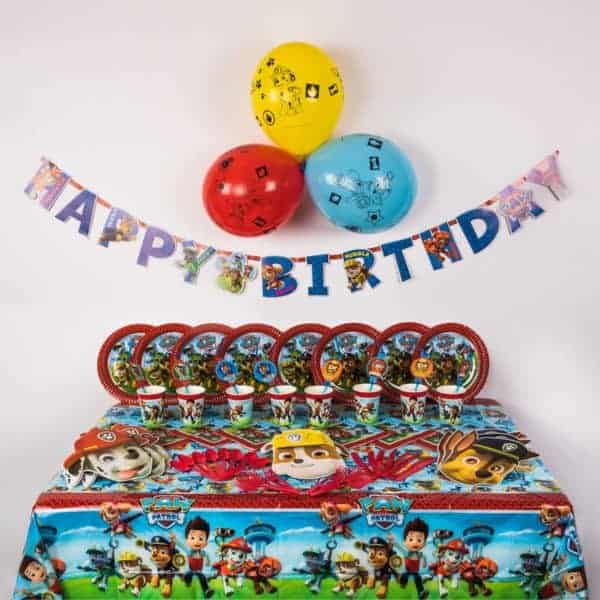 Deluxe Paw Patrol Party Package