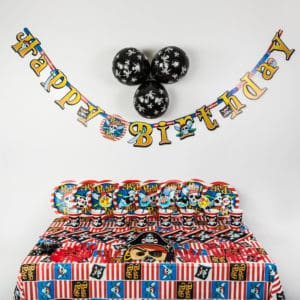 Deluxe Pirate Party Package