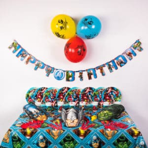 Deluxe Superhero Party Package