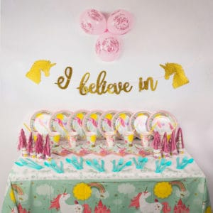 Deluxe Unicorn Party Package