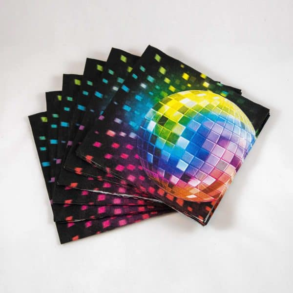 Disco Napkins (16 Pack)