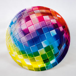 Disco Plates (8 Pack)