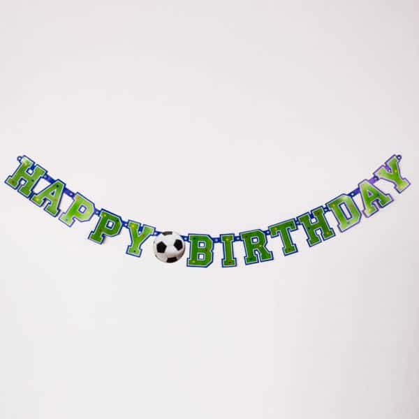 Football Party Banner