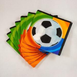 Football Napkins (16 Pack)