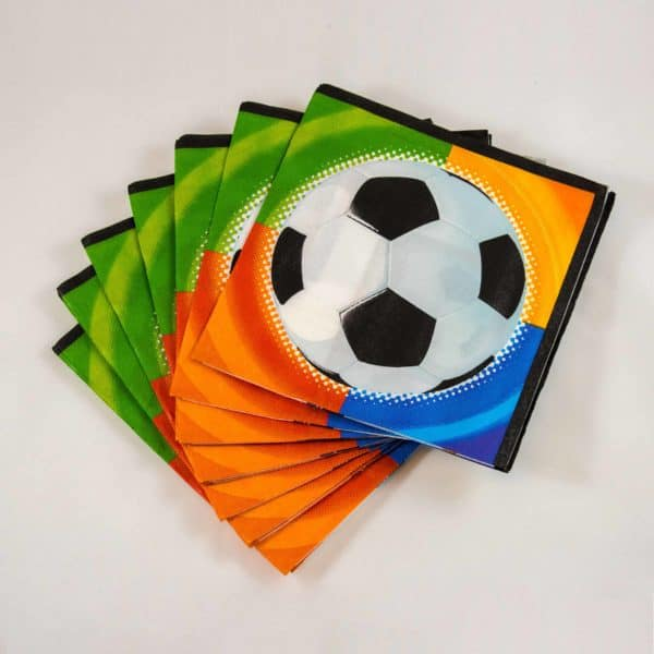 Football Napkins (16 Pack)
