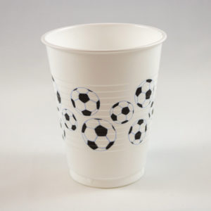 Football Cups (8 Pack)