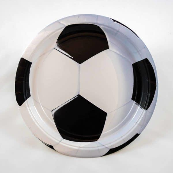 Football Plates (8 Pack)