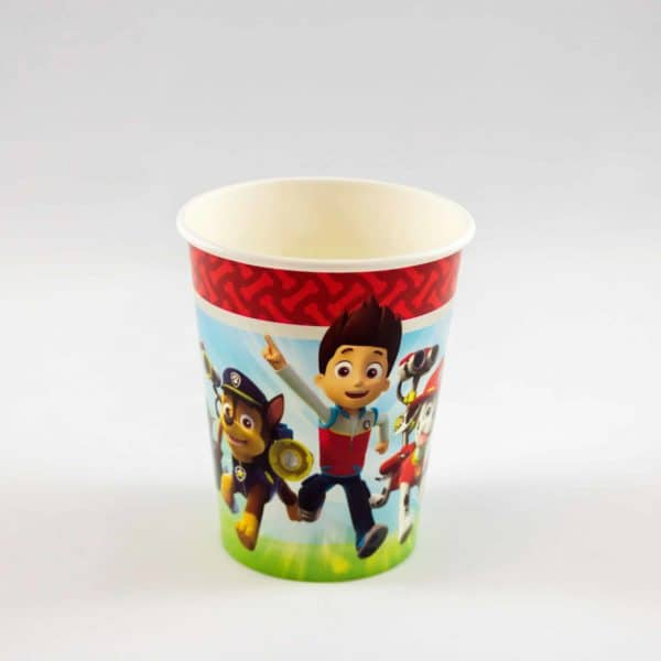 Paw Patrol Cups (8 Pack)