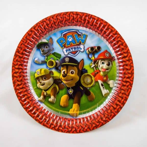 Paw Patrol Plates (8 Pack)