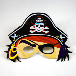 Pirate Masks (8 Pack)
