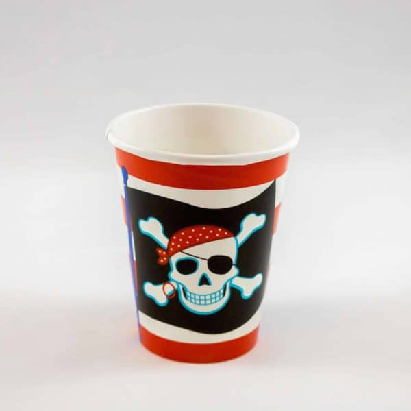 Pirate Cups (8 Pack)