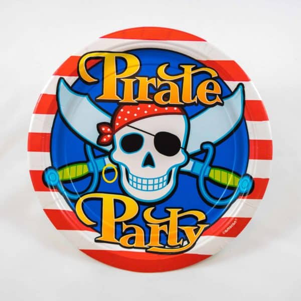 Pirate Plates (8 Pack)