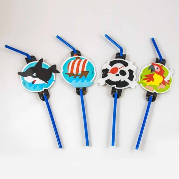 Pirate Straws (8 Pack)