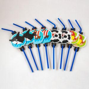 Pirate Straws (8 Pack)