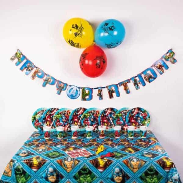 Premium Superhero Party Package