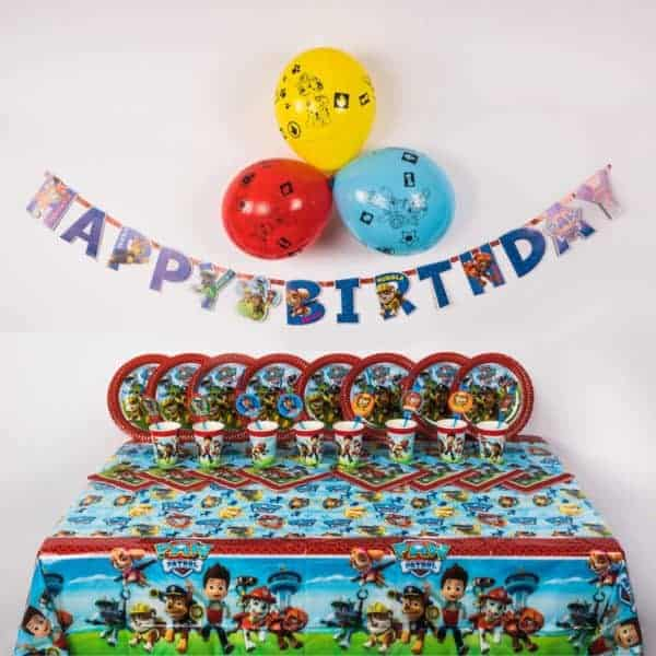 Premium Paw Patrol Party Package
