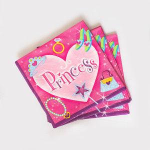 Princess Napkins (16 Pack)