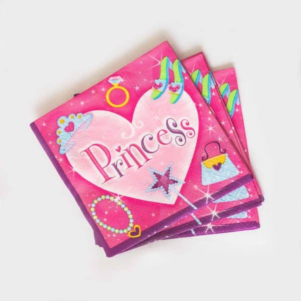 Princess Napkins (16 Pack)