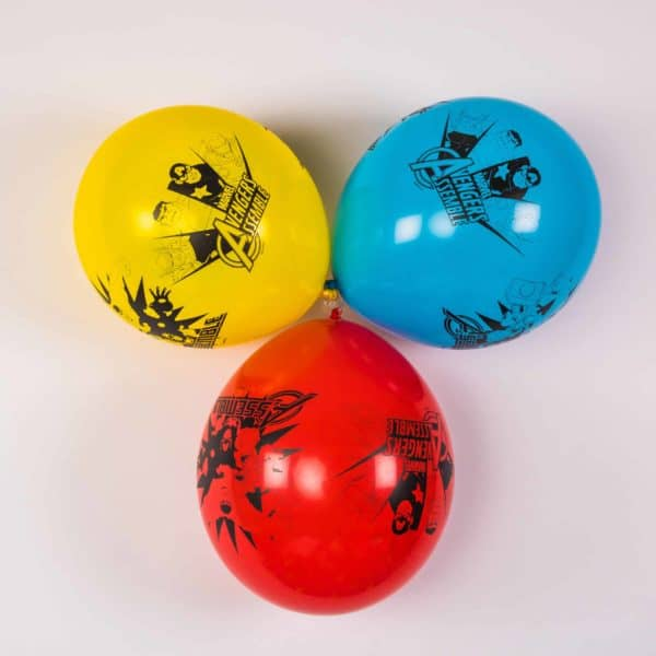 Superhero Balloons (6 Pack)
