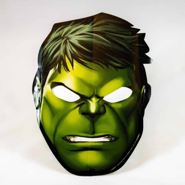Superhero Masks (8 Pack)