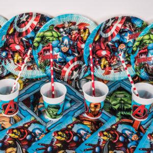 Premium Superhero Party Package