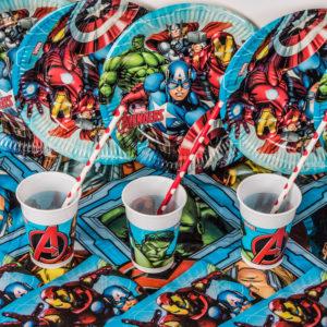 Superhero Cups (8 Pack)