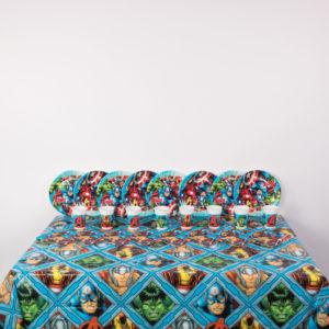 Basic Superhero Party Package
