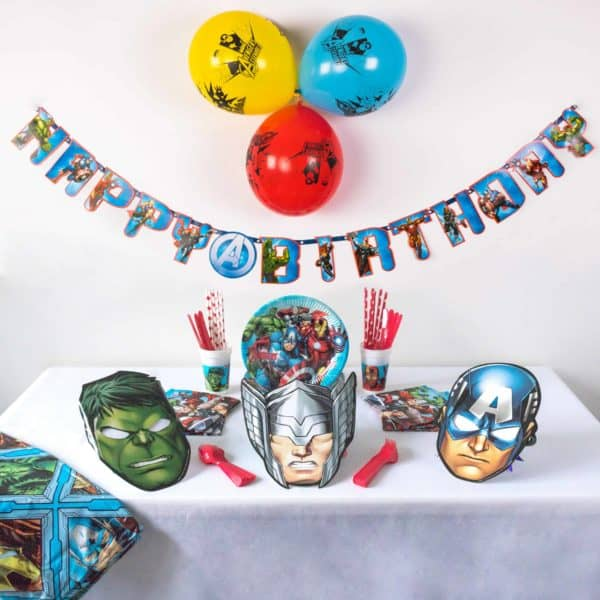 Superhero Party Banner