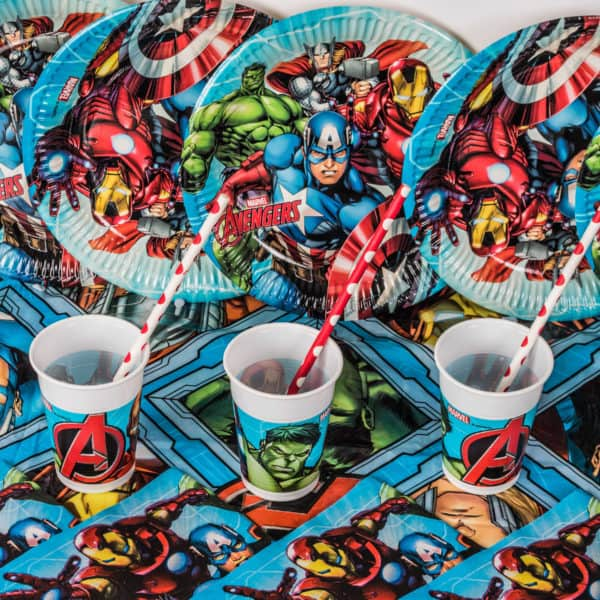 Superhero Cups (8 Pack)