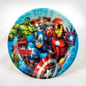 Superhero Plates (8 Pack)