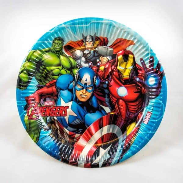 Superhero Plates (8 Pack)