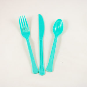 Turquoise Cutlery