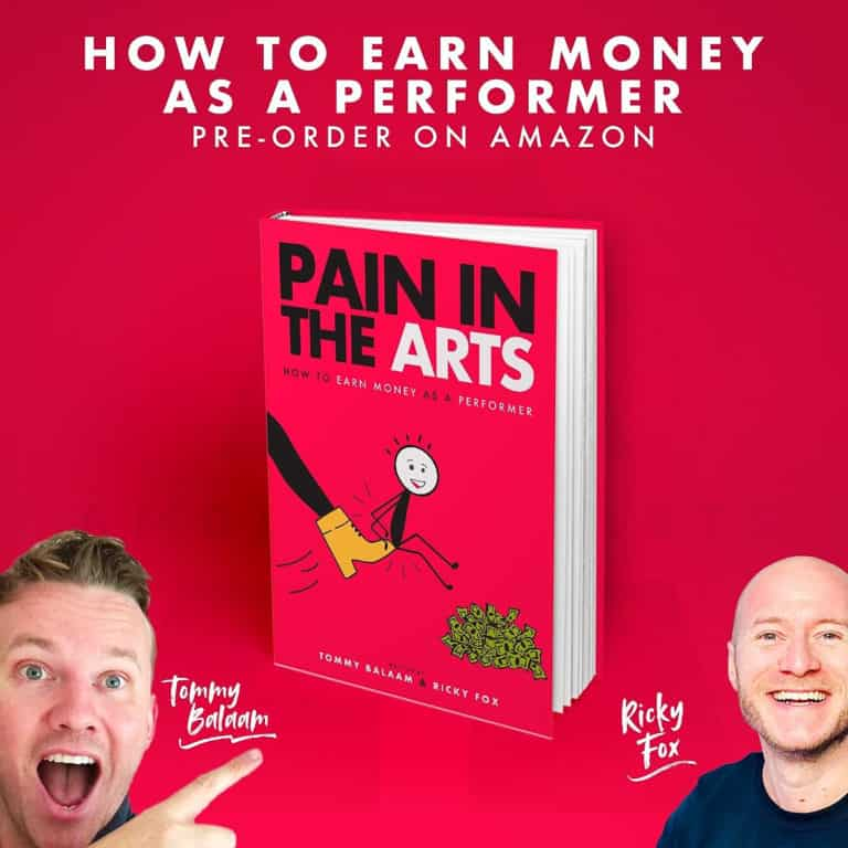 At last – learn how to earn money as a performer