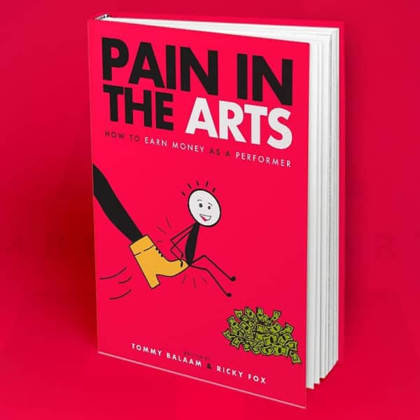 Pain in the Arts Book Cover Art