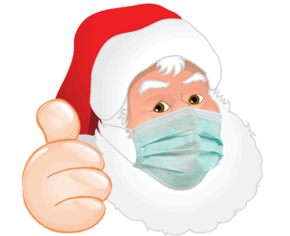 How to navigate awkward questions about Father Christmas when it comes to COVID and quarantine