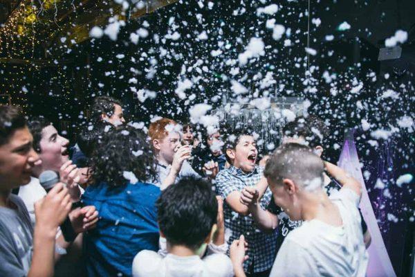 Dance party snow machine