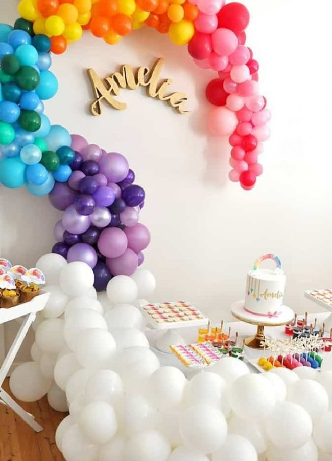 amelia birthday decor